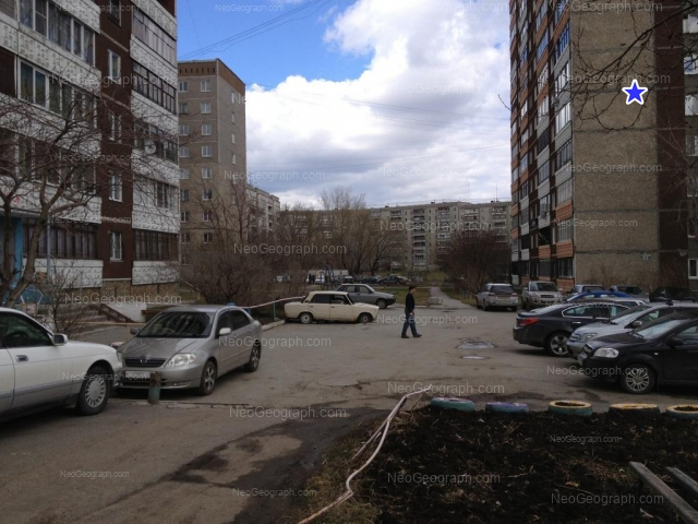 Адрес(а) на фотографии: улица Черепанова, 16, 18, 20, 22, Екатеринбург