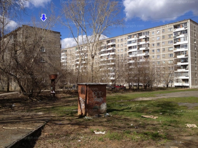 Адрес(а) на фотографии: улица Блюхера, 55, 55А, Екатеринбург