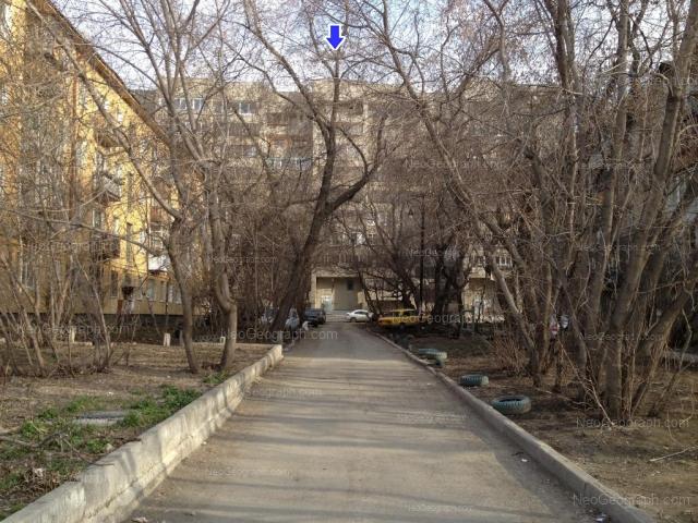 Address(es) on photo: Azina street, 20/1, 20/2, 20/4, Yekaterinburg