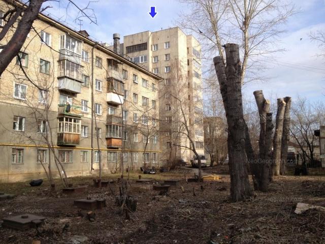 Address(es) on photo: Azina street, 20/1, 20/4, Yekaterinburg