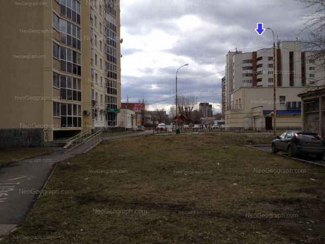 Адрес(а) на фотографии: Опалихинская улица, 31, 44, 46, Екатеринбург