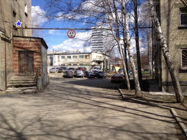 Address(es) on photo: Komsomolskaya street, 4, 4А, 4Б, Yekaterinburg