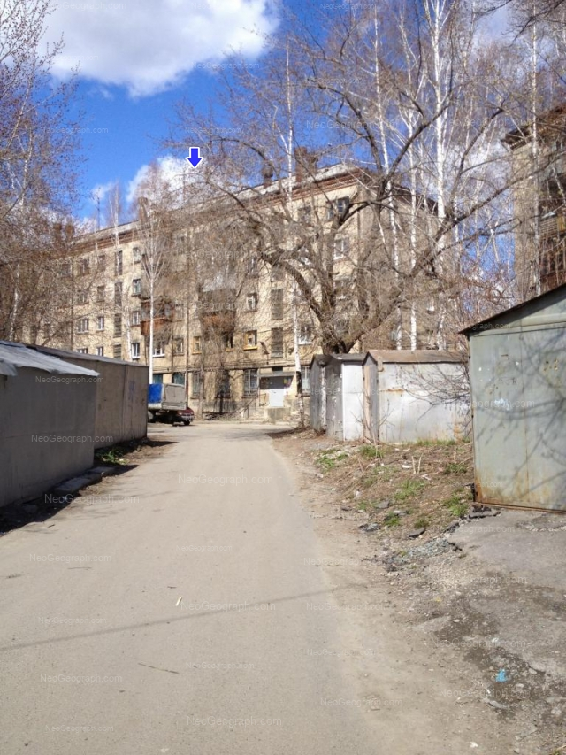 Address(es) on photo: Komsomolskaya street, 4А, Yekaterinburg
