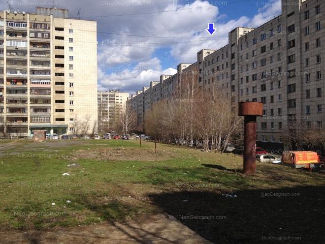 Адрес(а) на фотографии: улица Блюхера, 51, 53, 57, 59, Екатеринбург