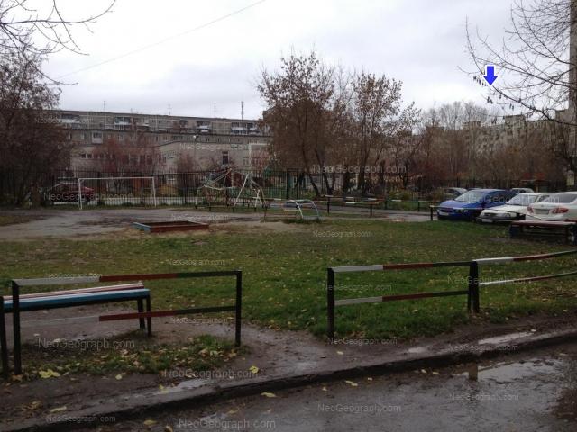 На фото видно здание с адресом улица Блюхера, 49А, Екатеринбург - детский сад 68