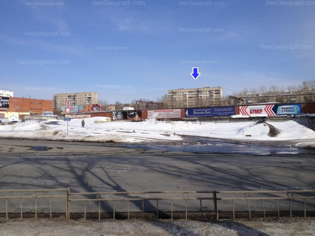 Адрес(а) на фотографии: Солнечная улица, 29, 33, Екатеринбург