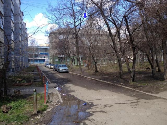 Адрес(а) на фотографии: Комсомольская улица, 6Б, 6В, 6Г, 6Е, Екатеринбург