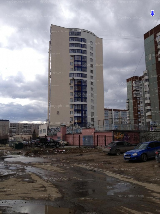 Адрес(а) на фотографии: Опалихинская улица, 18, 20, 20а, 22, Екатеринбург