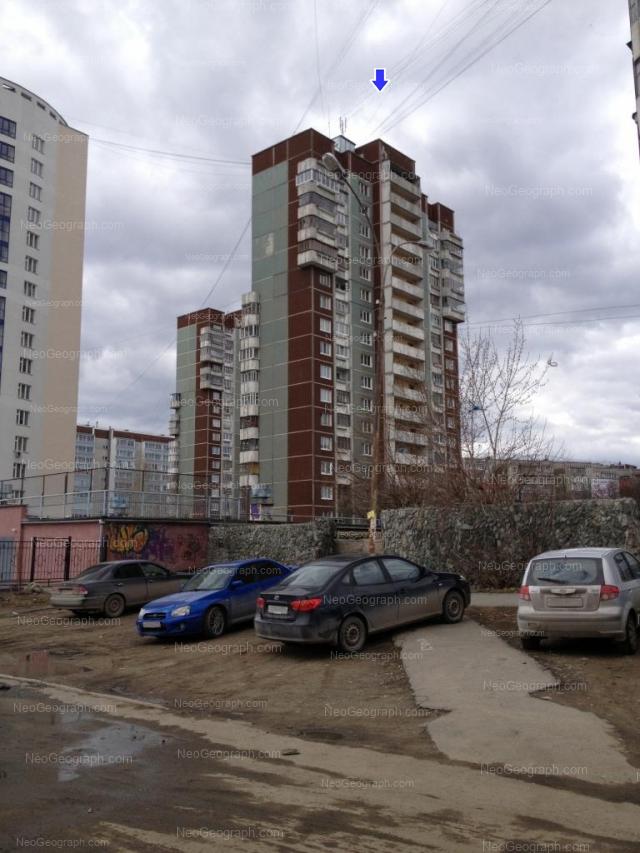 Адрес(а) на фотографии: Опалихинская улица, 18, 20, 20а, 21, 22, Екатеринбург