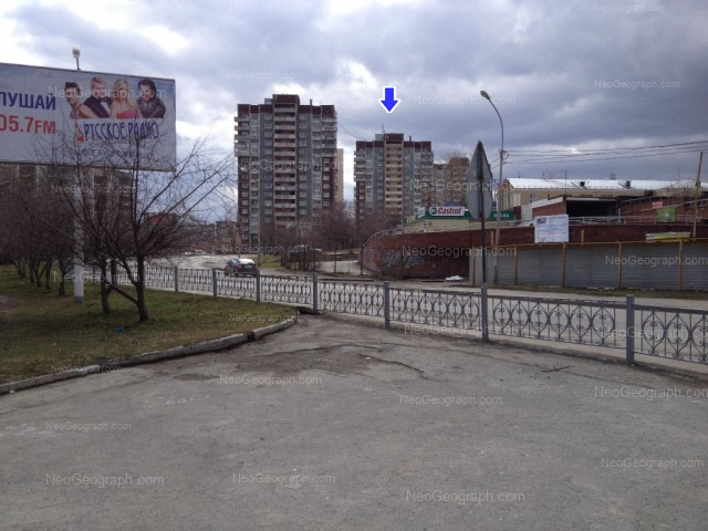 Адрес(а) на фотографии: Опалихинская улица, 22, 24, 25, 26, Екатеринбург