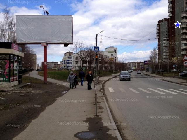 Адрес(а) на фотографии: Опалихинская улица, 22, 23, 24, 27, Екатеринбург