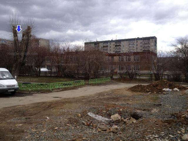 На фото видно здание с адресом улица Бебеля, 118А, Екатеринбург - детский сад 18