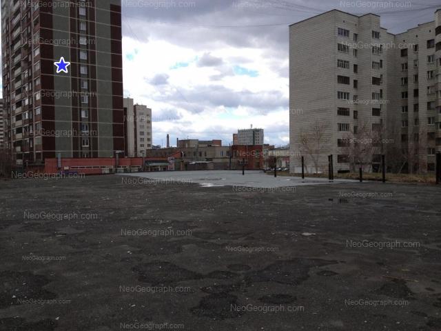 Address(es) on photo: Bebeliya street, 114, 116, 118, 120, Yekaterinburg