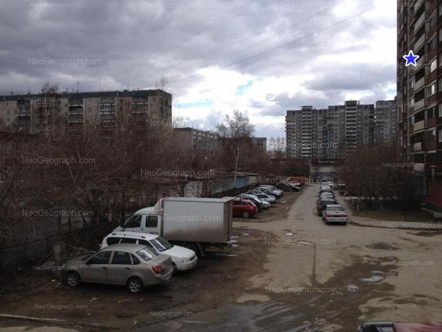 Address(es) on photo: Bebeliya street, 108, 110, 112, 114А, 118, Yekaterinburg