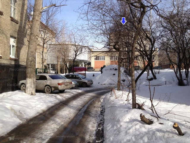 Адрес(а) на фотографии: Комсомольская улица, 21, 23, Екатеринбург
