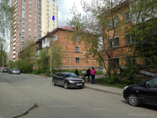 Адрес(а) на фотографии: Флотская улица, 41, 43, 45, Екатеринбург