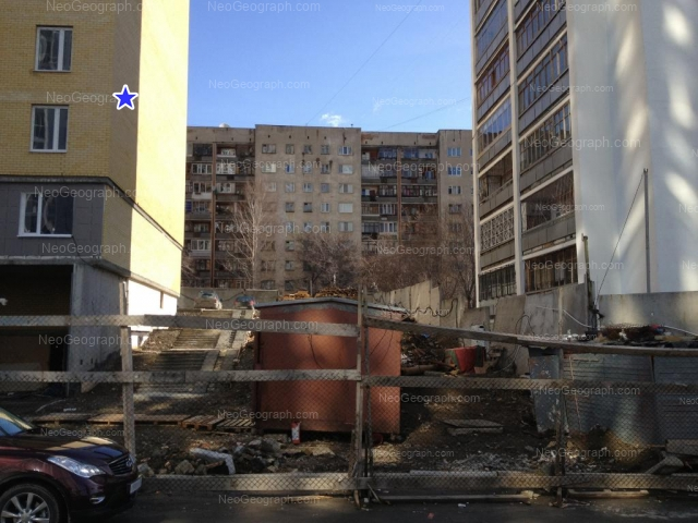 Адрес(а) на фотографии: улица Юмашева, 12, 16, Екатеринбург