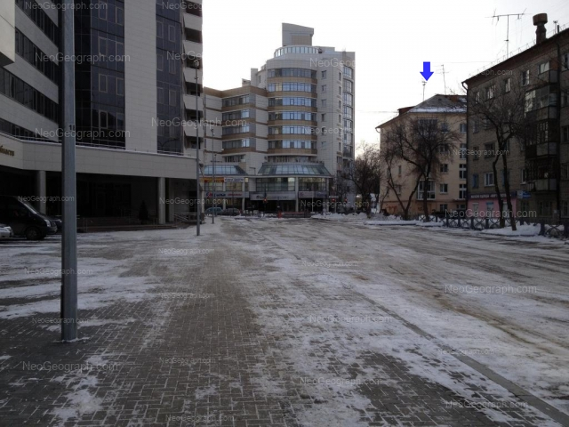 Адрес(а) на фотографии: улица Мамина-Сибиряка, 52, 97, Екатеринбург