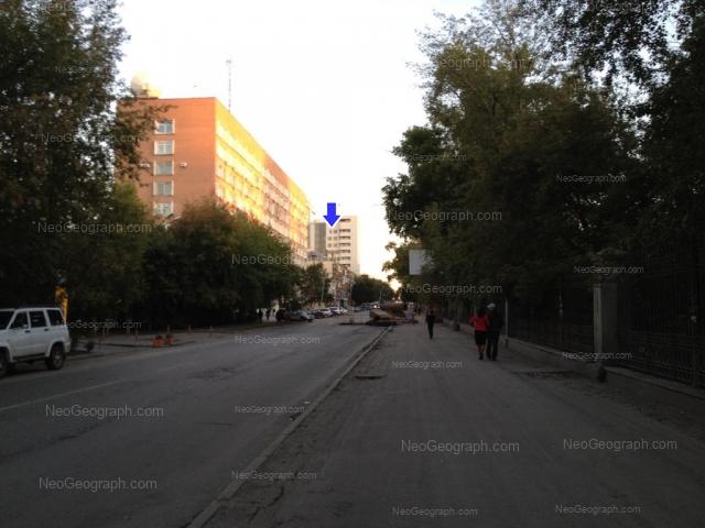 Адрес(а) на фотографии: улица Мамина-Сибиряка, 85, 97, Екатеринбург