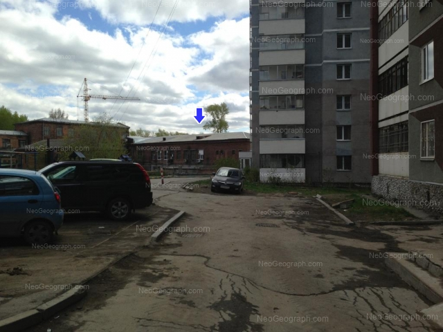 Адрес(а) на фотографии: улица Блюхера, 3, 5А, Екатеринбург