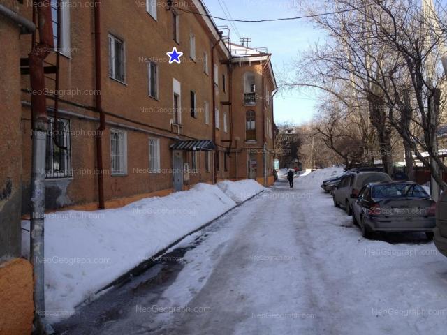 Адрес(а) на фотографии: Курьинский переулок, 1, 5, Екатеринбург