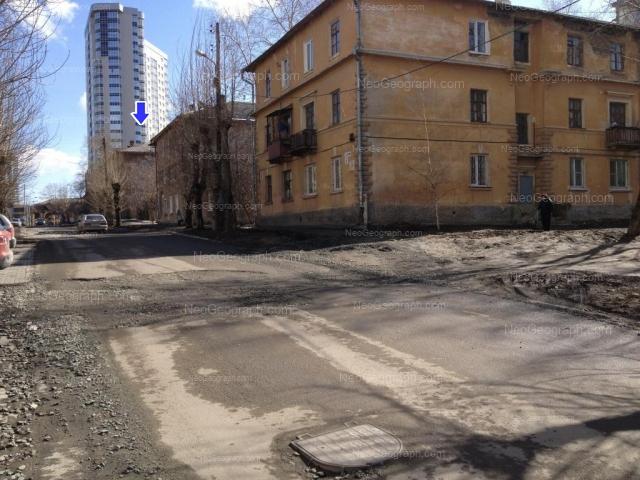 Адрес(а) на фотографии: улица Папанина, 6, 8, 10, Екатеринбург