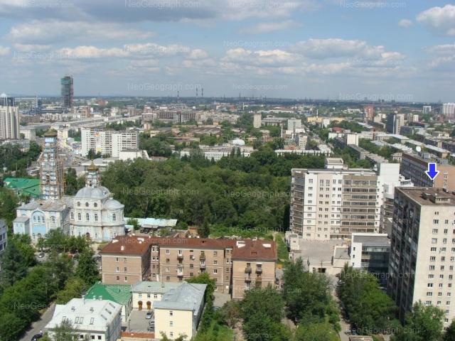 Адрес(а) на фотографии: улица Мамина-Сибиряка, 52, 54, 85, Екатеринбург