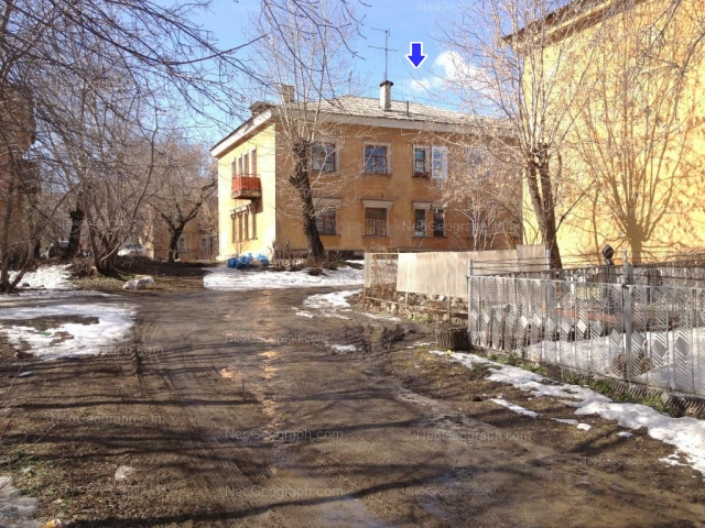 Address(es) on photo: Papanina street, 19, 23, 28, Yekaterinburg
