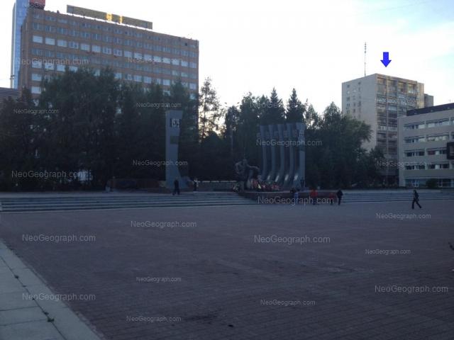 Адрес(а) на фотографии: улица Мамина-Сибиряка, 54, 58, 111, Екатеринбург