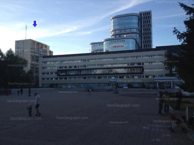 Адрес(а) на фотографии: улица Мамина-Сибиряка, 54, 56, 101, 111, Екатеринбург