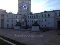 Вид с ул. Первомайская на здание с адресом: Первомайская, 27, Екатеринбург - Окружной дом офицеров