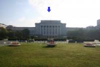 Вид на главный корпус Уральского федерального университета с площади Кирова, Екатеринбург, Россия - Неогеограф