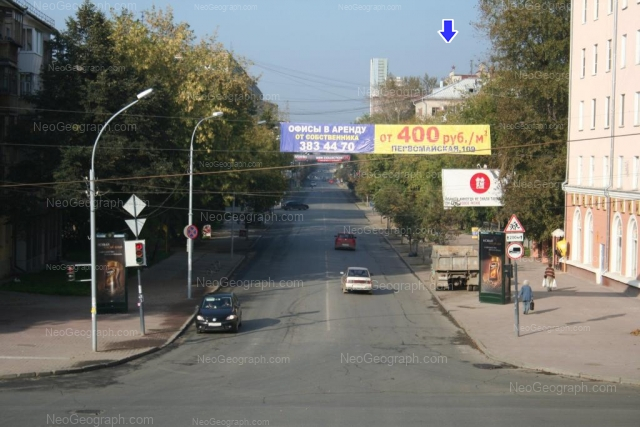 Адрес(а) на фотографии: Первомайская улица, 45, 62, 63, Екатеринбург