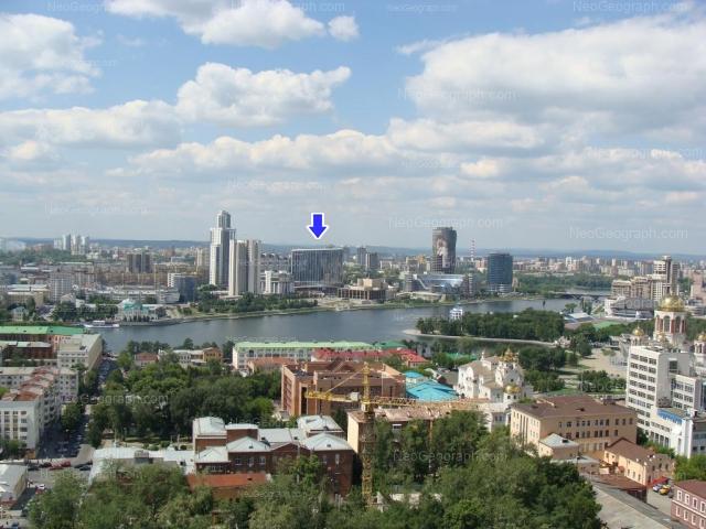 Address(es) on photo: Borisa Eltsina street, 3, 8, Yekaterinburg