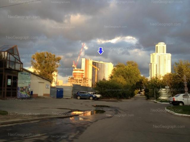 Address(es) on photo: Borisa Eltsina street, 8, Yekaterinburg