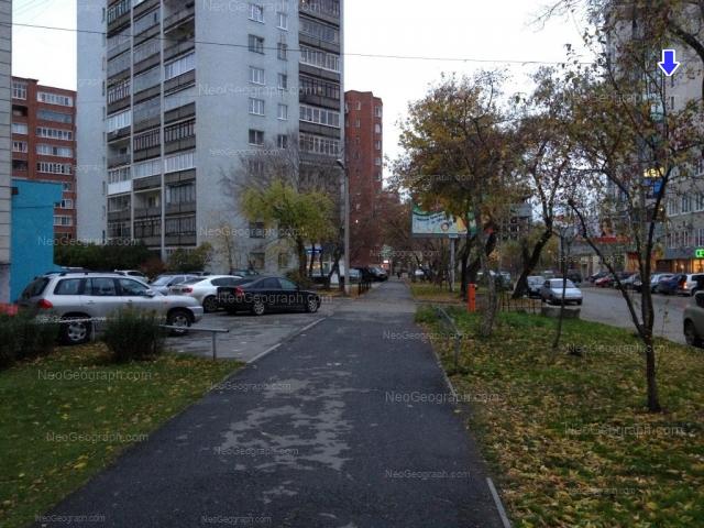 Адрес(а) на фотографии: улица Шейнкмана, 2, 5, 7, Екатеринбург