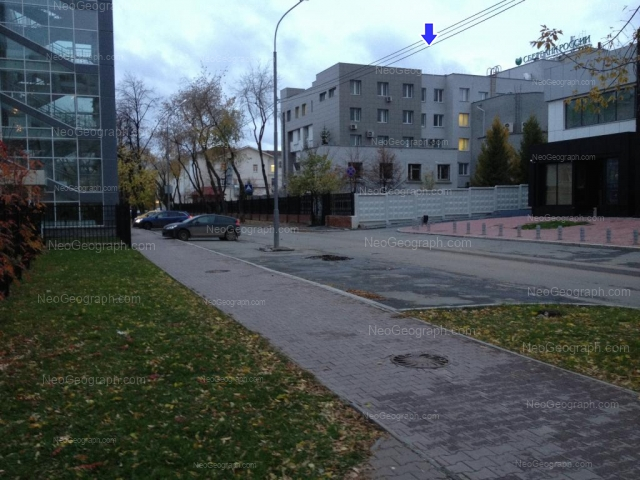 Address(es) on photo: Moskovskaya street, 19, 21, Yekaterinburg