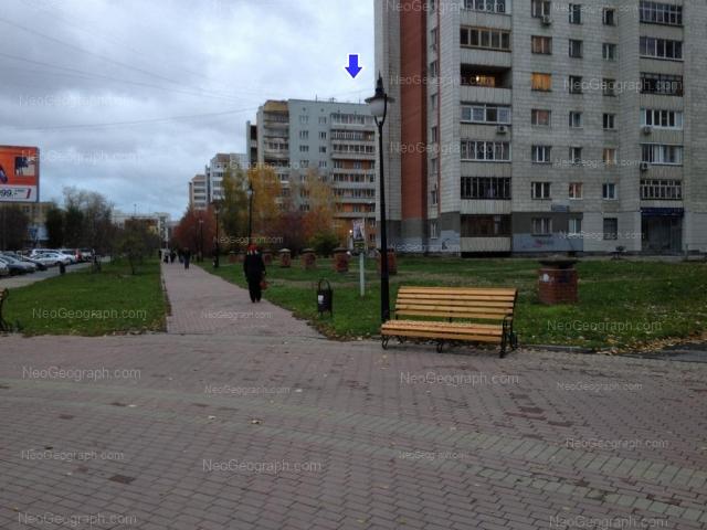 Адрес(а) на фотографии: улица Сакко и Ванцетти, 18, Екатеринбург