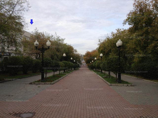 Адрес(а) на фотографии: проспект Ленина, 40, 44, 46, 47, 49, Екатеринбург
