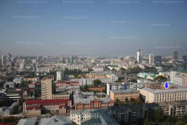 Address(es) on photo: Lenina avenue, 35, 38, Yekaterinburg