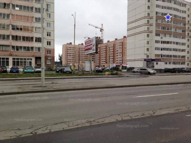 Адрес(а) на фотографии: улица Бакинских Комиссаров, 107, 109, Екатеринбург