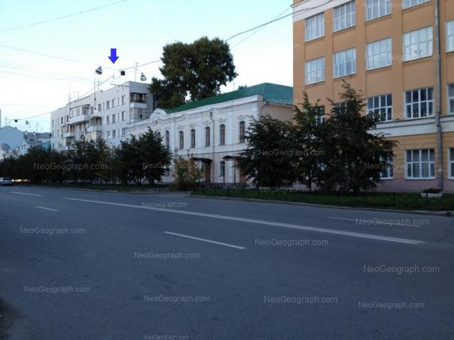 Address(es) on photo: Pushkina street, 10, 12, 14, 16, Yekaterinburg