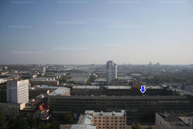Адрес(а) на фотографии: улица Мамина-Сибиряка, 98, 141, 143, 145, Екатеринбург