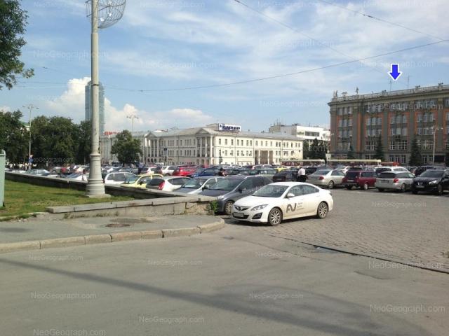 Address(es) on photo: Lenina avenue, 24А, 26, Yekaterinburg