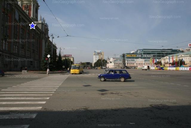 Address(es) on photo: Lenina avenue, 15, 24А, 25, 27, Yekaterinburg
