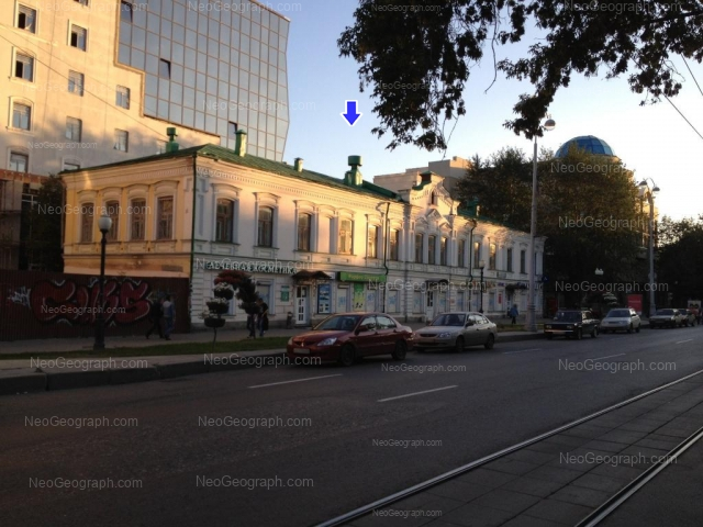 Адрес(а) на фотографии: проспект Ленина, 20а, 22, Екатеринбург