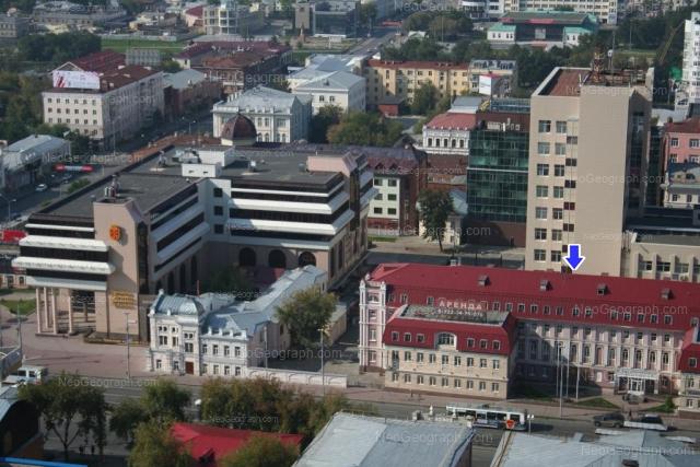 Address(es) on photo: Karla Libknekhta street, 1, 3, 5, Yekaterinburg