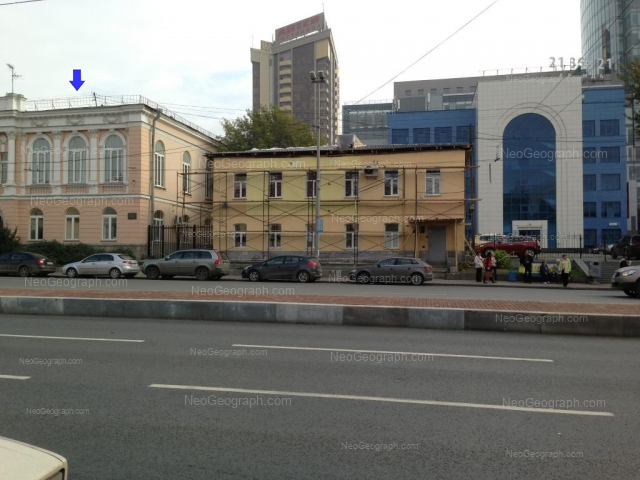 Address(es) on photo: Karla Libknekhta street, 4, 6А, 8, Yekaterinburg
