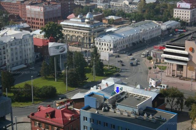 Адрес(а) на фотографии: улица Карла Либкнехта, 1, 2, 4, Екатеринбург