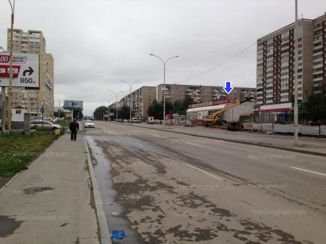 Адрес(а) на фотографии: улица Бакинских Комиссаров, 66, 68, 100, 109, Екатеринбург
